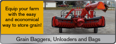 Grain Baggers, Unloaders, and Bags